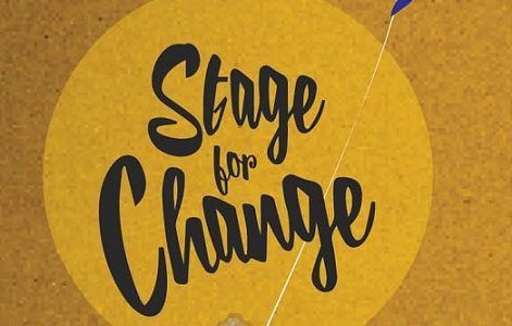 Logo - stage for change