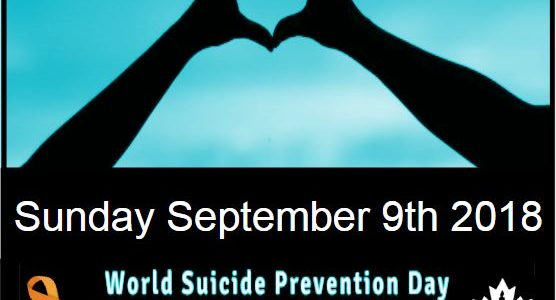 Suicide Prevention Day - 9 September